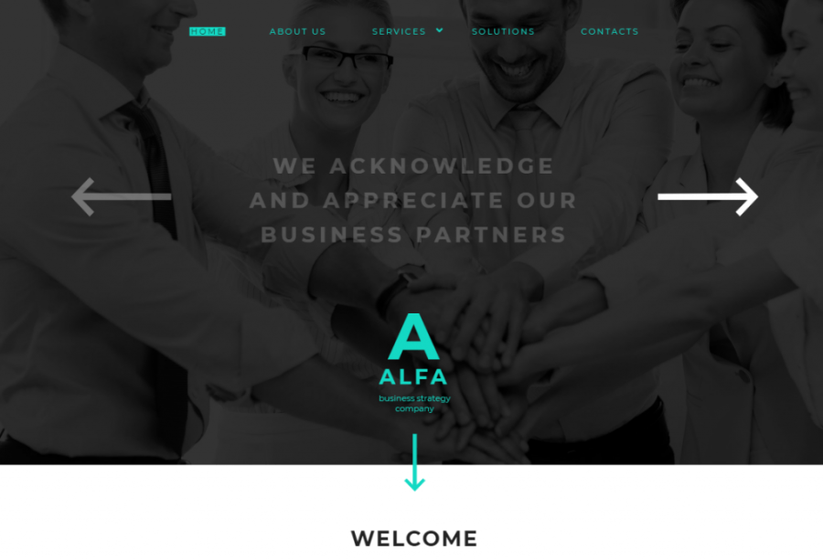 Alfa Website Template