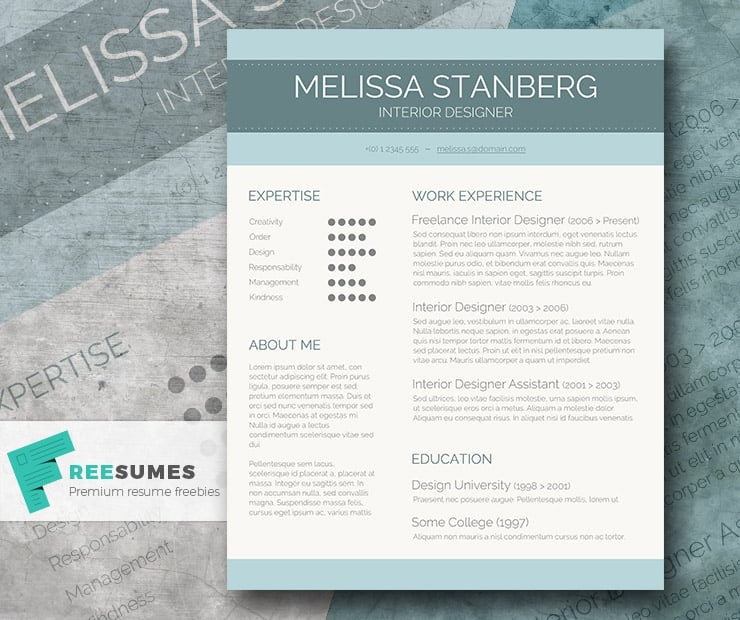 moo example resume