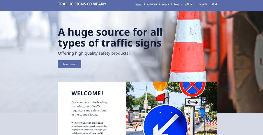 Traffic Signs Company