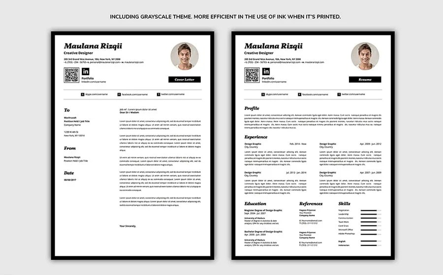 best free to print resume template 2018