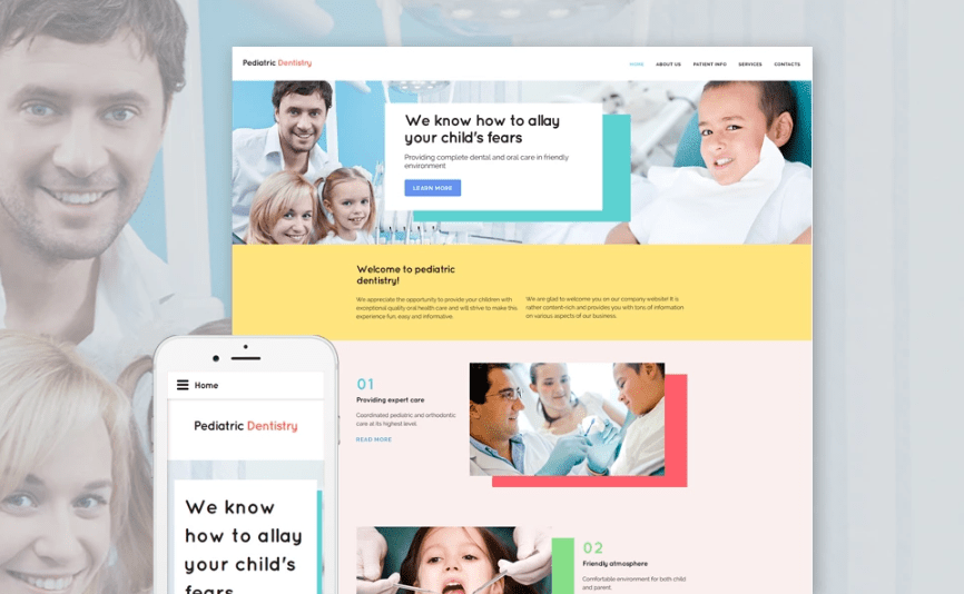 40 best html5 health and medical website templates for clinics