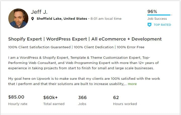A List of TOP WordPress Developers from Upwork & Codeable – Browsify