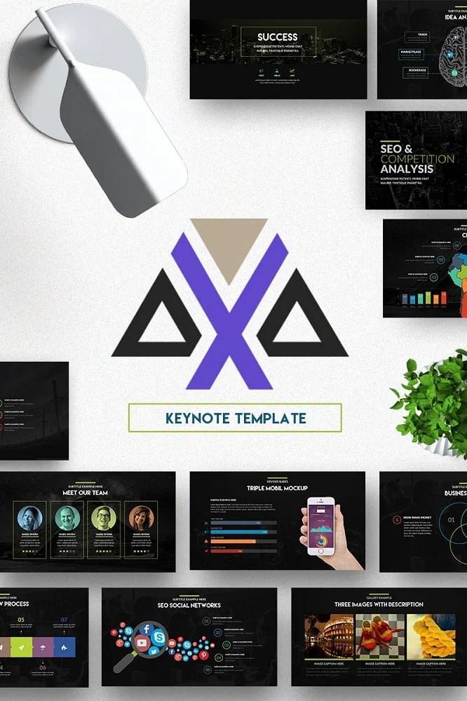 Axa Keynote Template