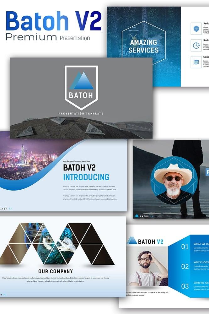 Batoh V2 Premium Presentation Keynote Template