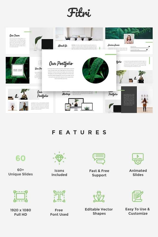 Fitri - Creative Keynote Template