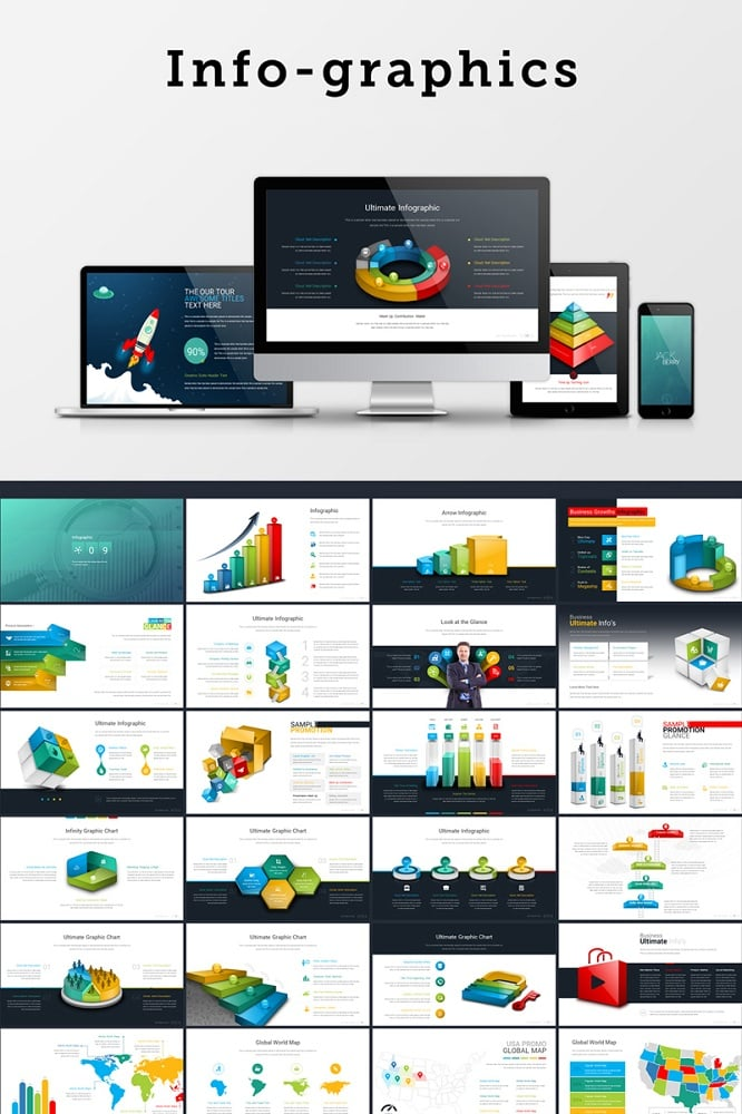 Infographics Keynote Template