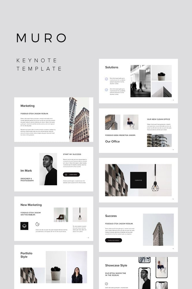 MURO + Big Bonus Keynote Template