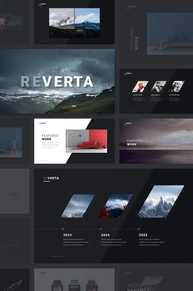 Reverta Keynote Template