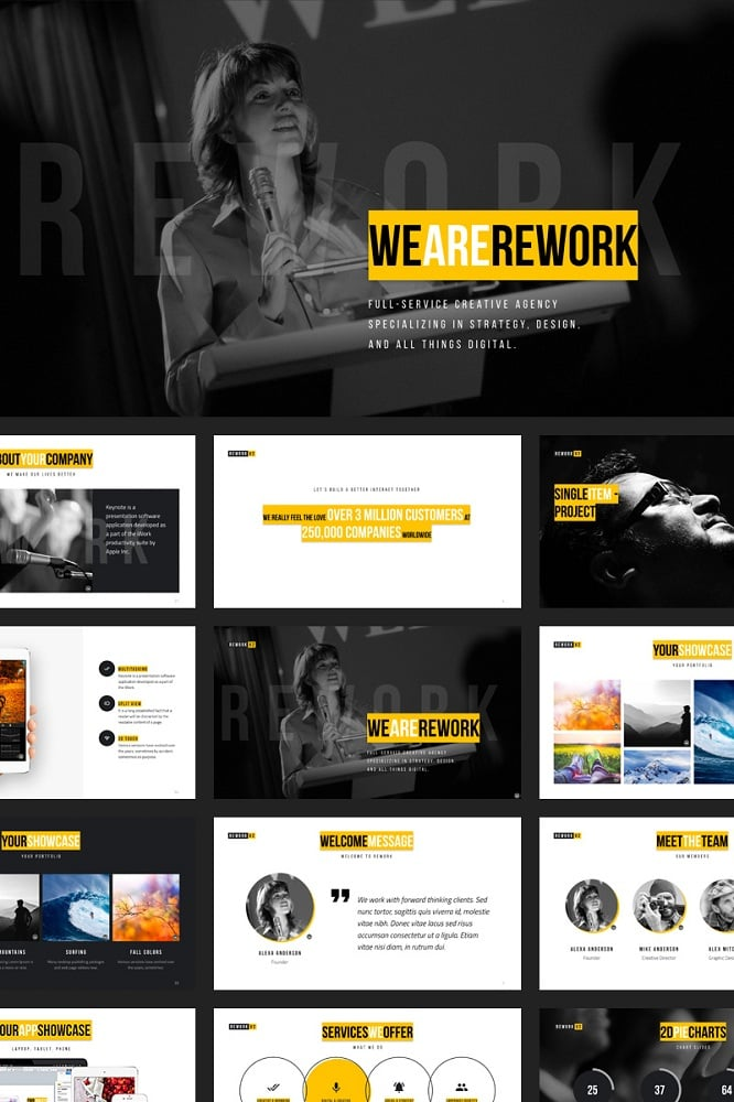 Rework Keynote Template