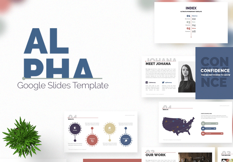 Alpha Template Google Slides