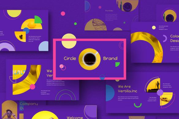 Circle Brand Keynote Template
