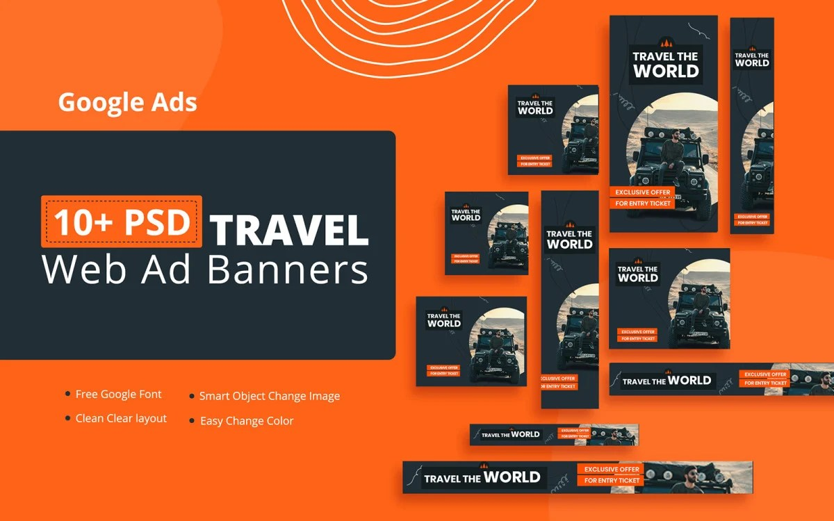Tom harris over the past few years, most of us have heard about all the money being made on the internet. Creative Travel Google Ads Banner Social Media