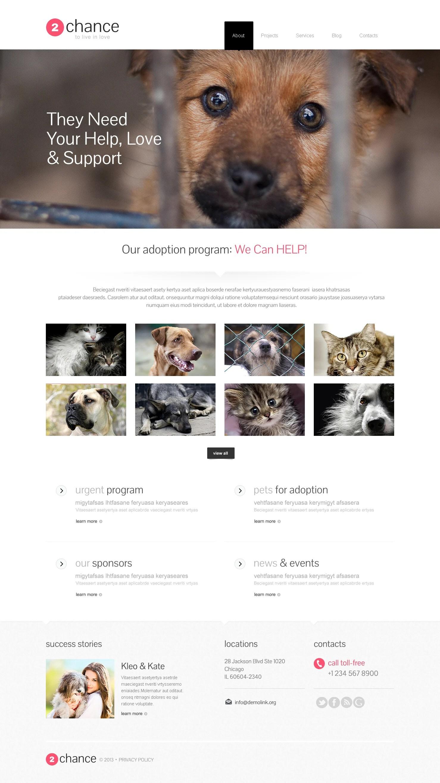Impressive Animal Shelter WordPress Theme #46165