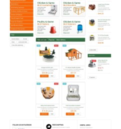 poultry farm supplies prestashop theme [ 1400 x 2714 Pixel ]
