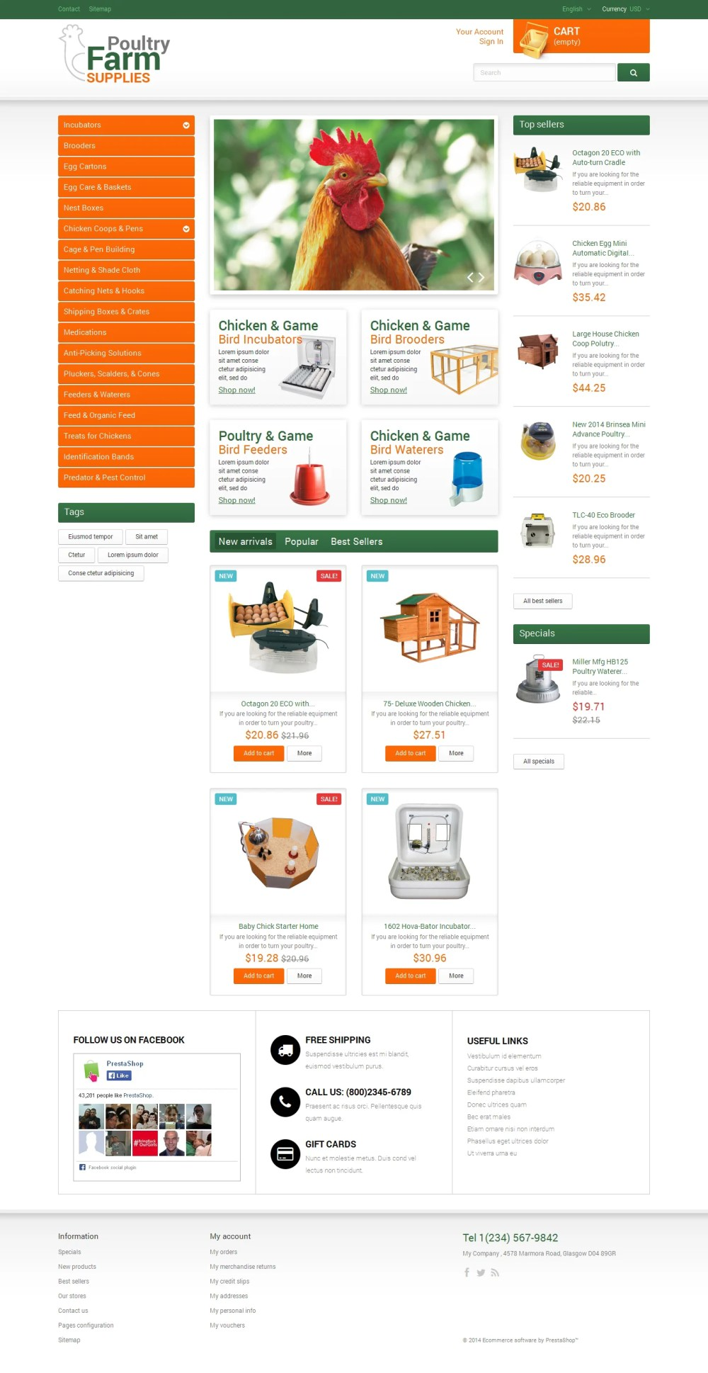 medium resolution of poultry farm supplies prestashop theme