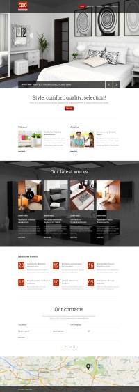 43+ Best Interior Design Website Templates