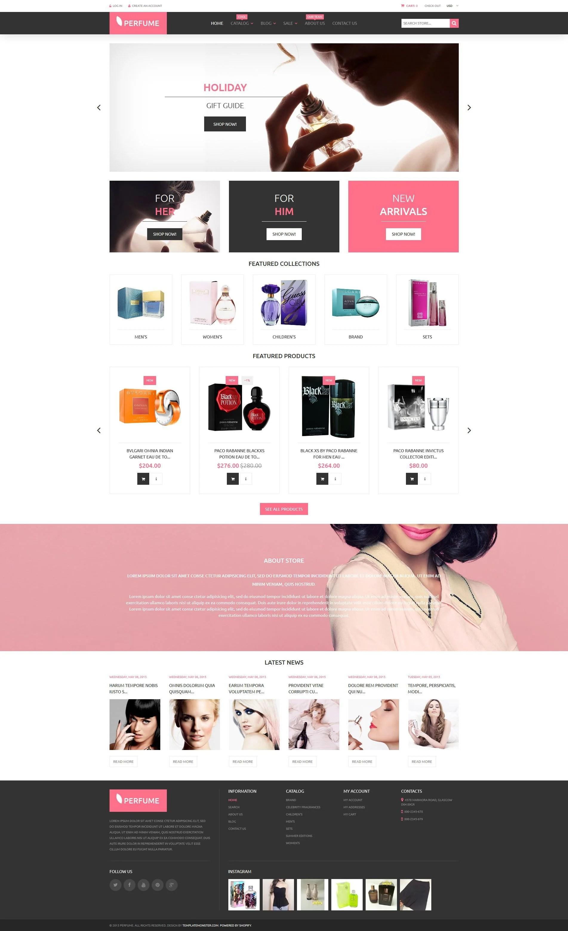 Beauty Shopify Theme