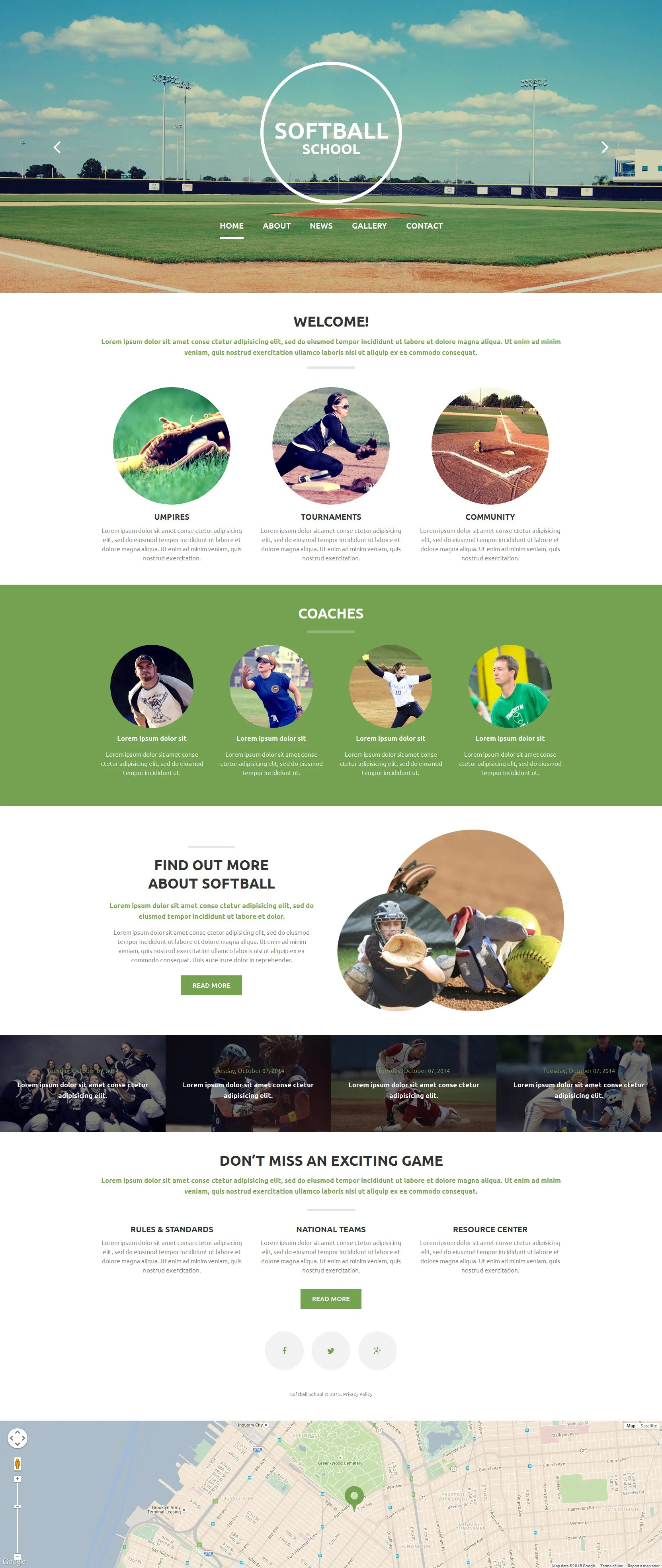 baseball website templates baseball