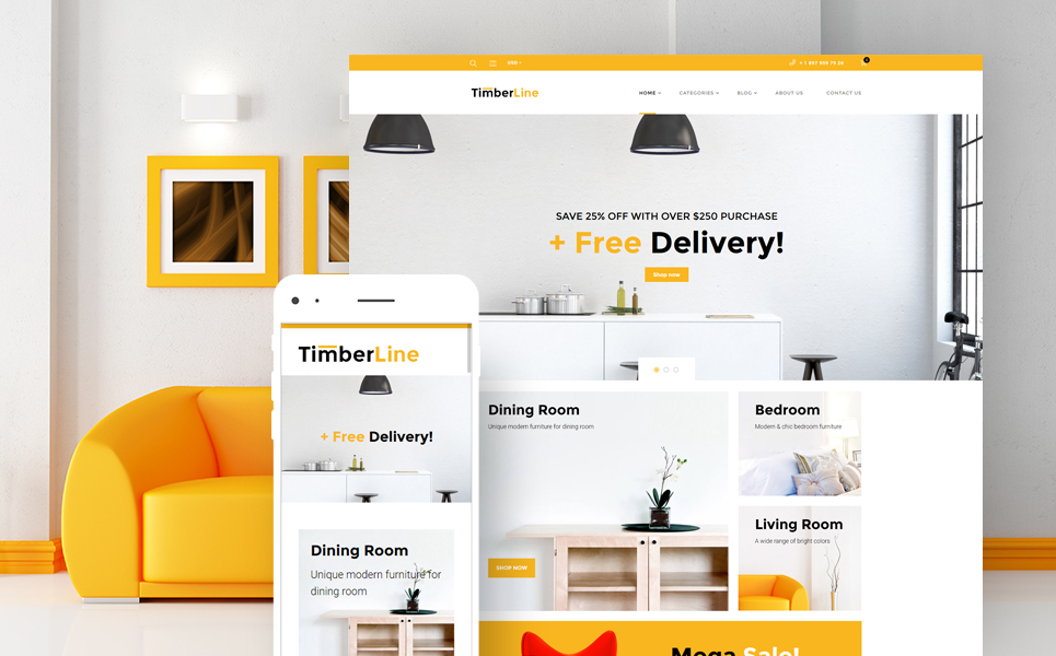 woocommerce theme namens timberline furniture store new screenshots big