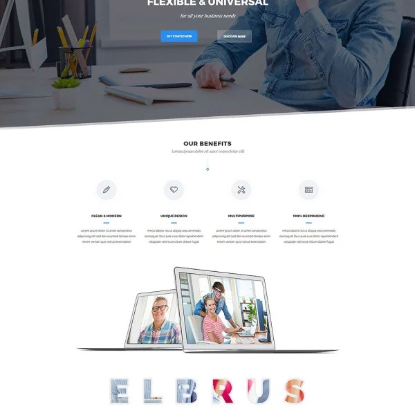Elbrus - Business & Marketing Multipurpose WordPress Theme