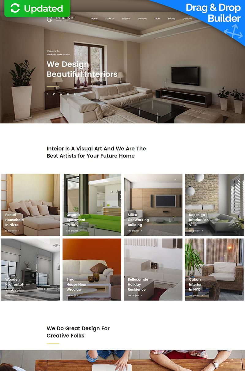 Modèles Pour Sites De Design TemplateMonster