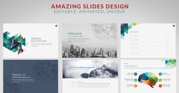 Xpress PowerPoint Template