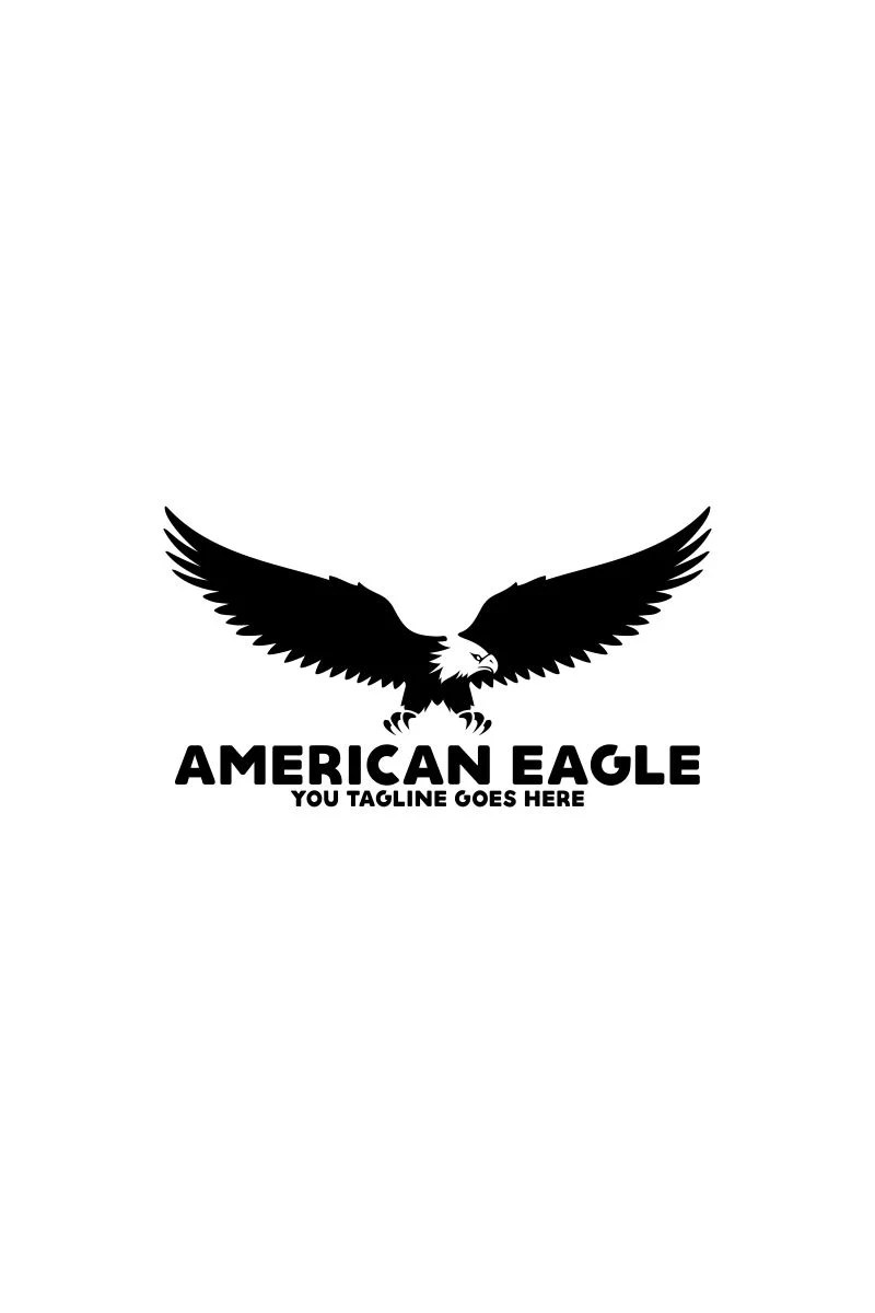 American Eagle Logo Template #64742