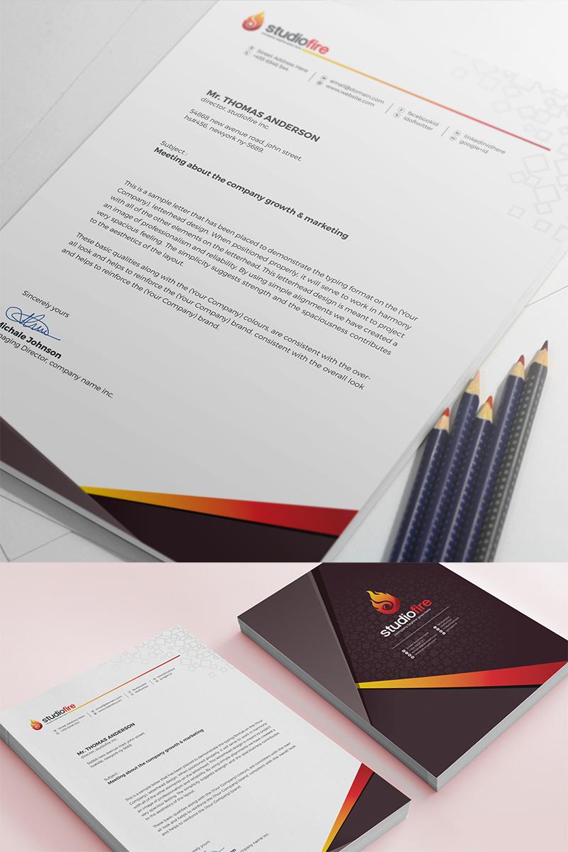 Creative Letterhead Template Corporate Identity Template 67653