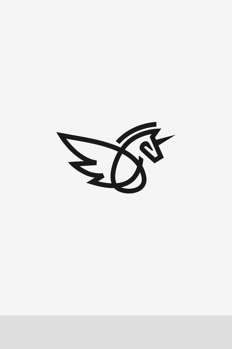 Unicorn Logo Template #67891
