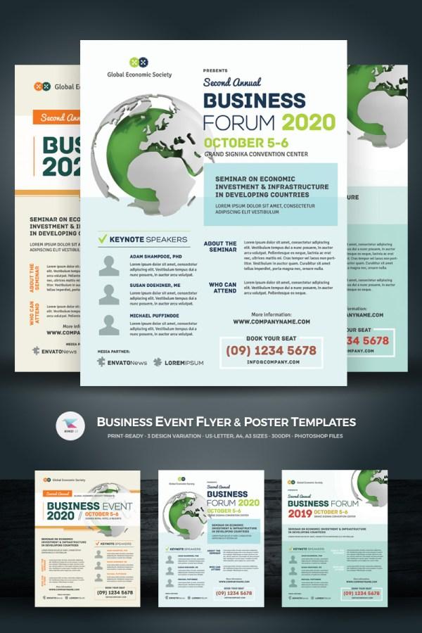 Business - Event Flyer & Poster Psd Template #67917