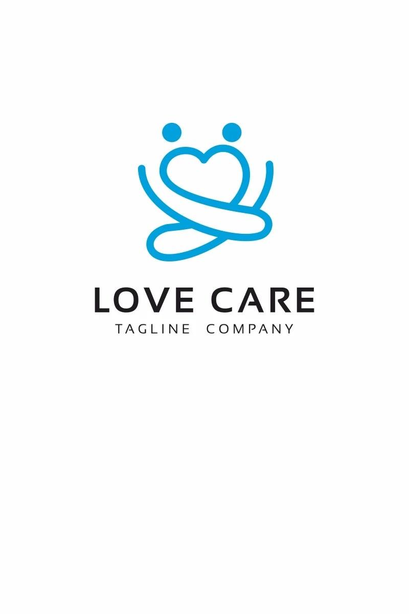Love Care Logo Template #68733
