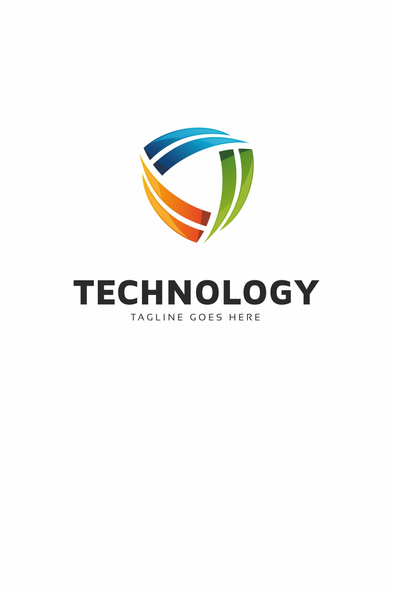 Technology Moving Logo Template #68729
