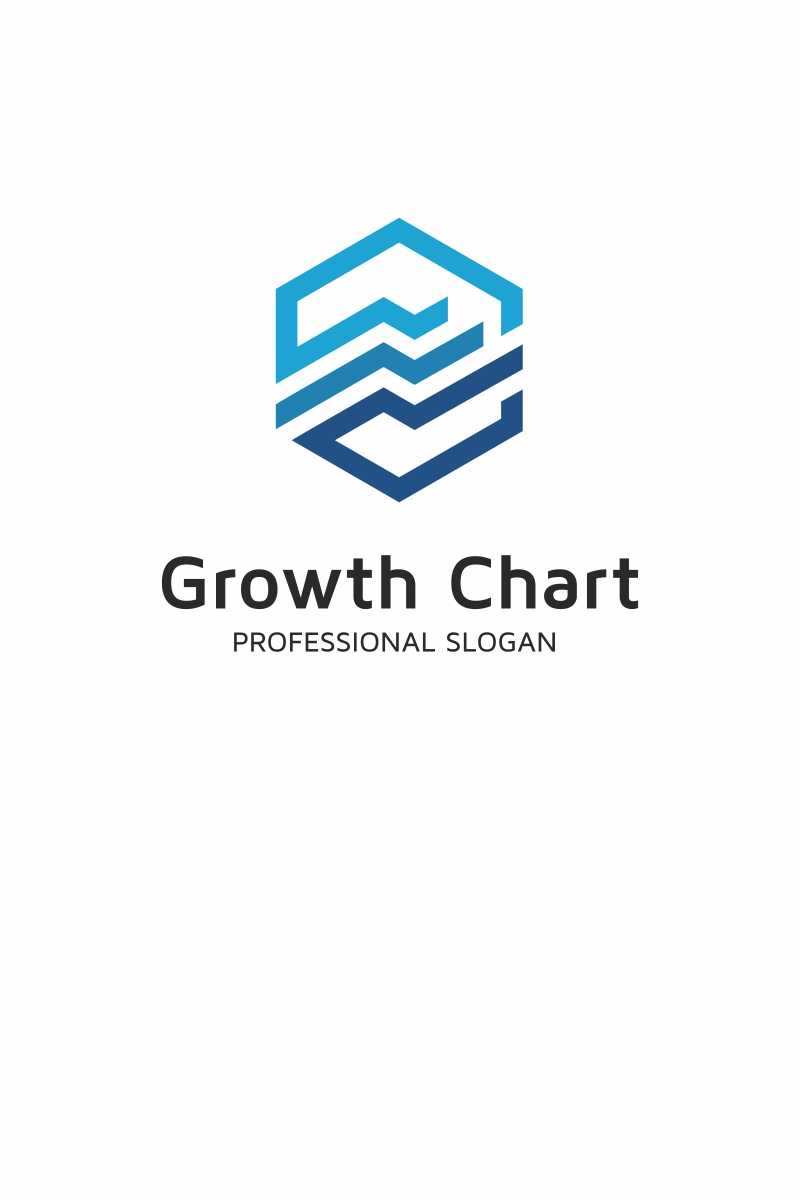 Growth Chart Logo Template #68931