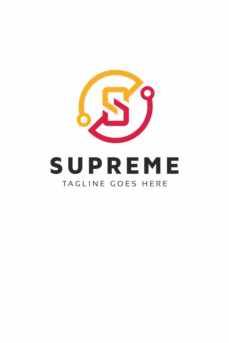 Supreme Cripto S Letter Logo Template #68981