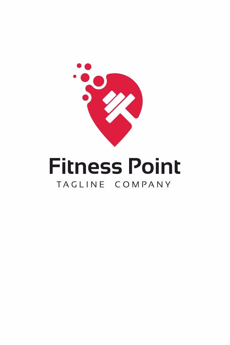 Fitness Point Logo Template #69026