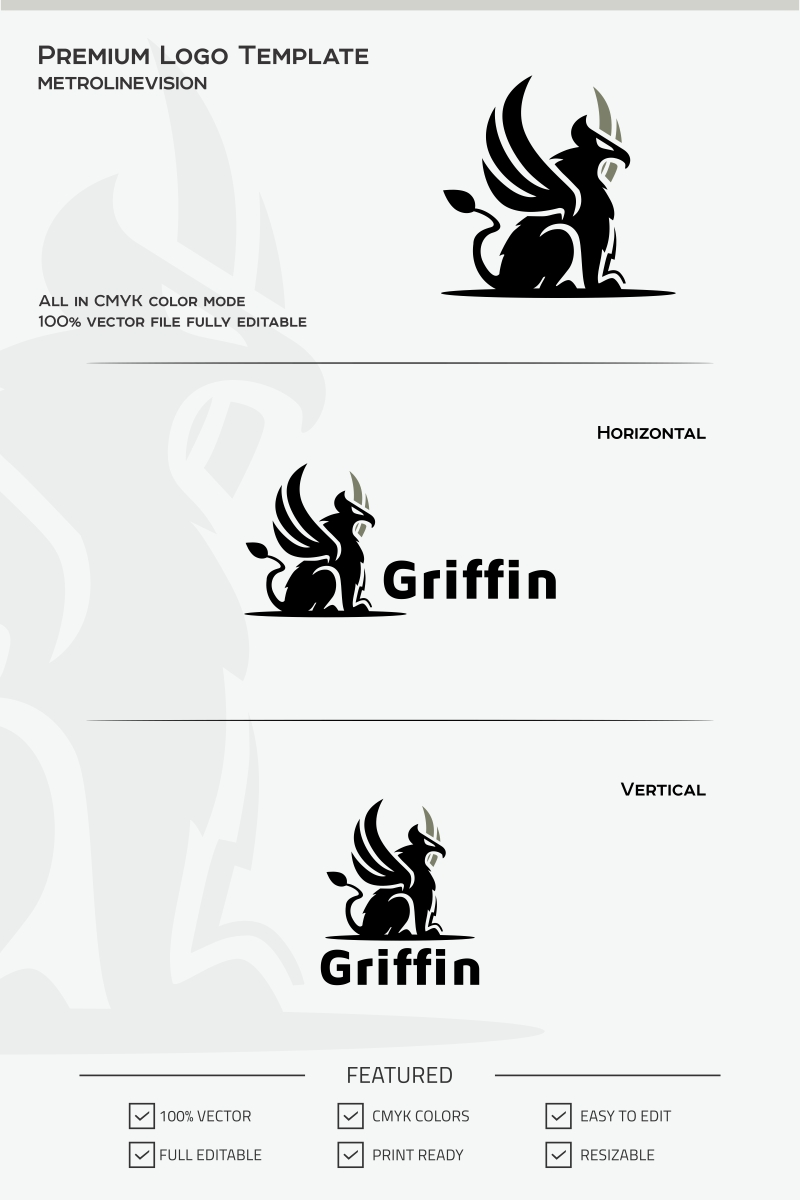 Griffin Logo Template #70077