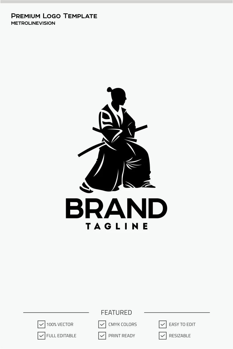 Samurai Logo Template #70886