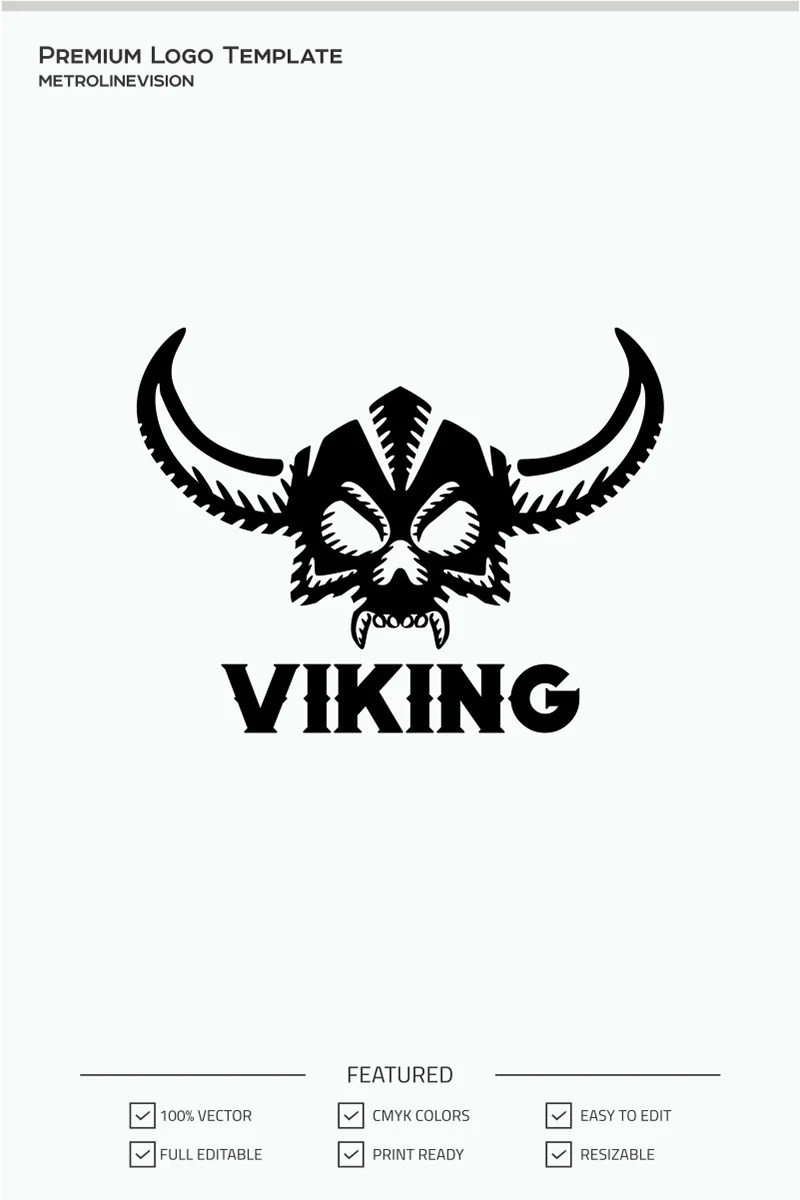 Viking Logo Template #70944