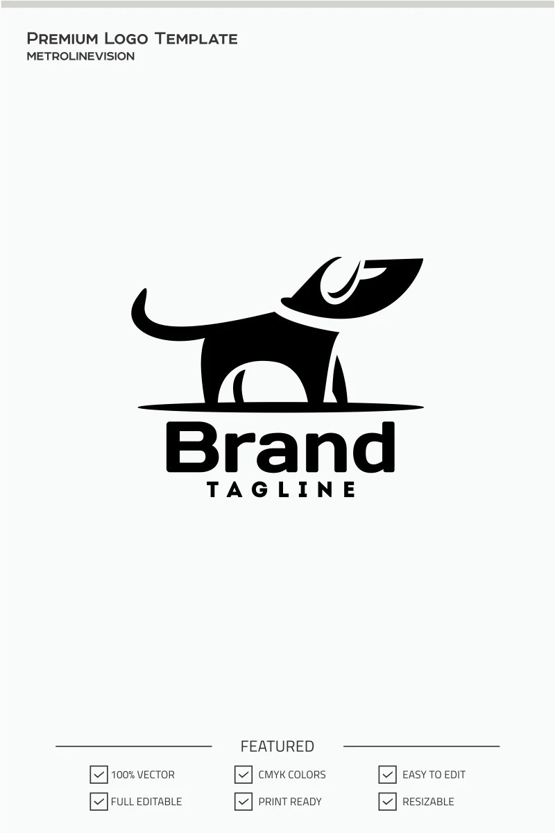 Dog Logo Template #71037