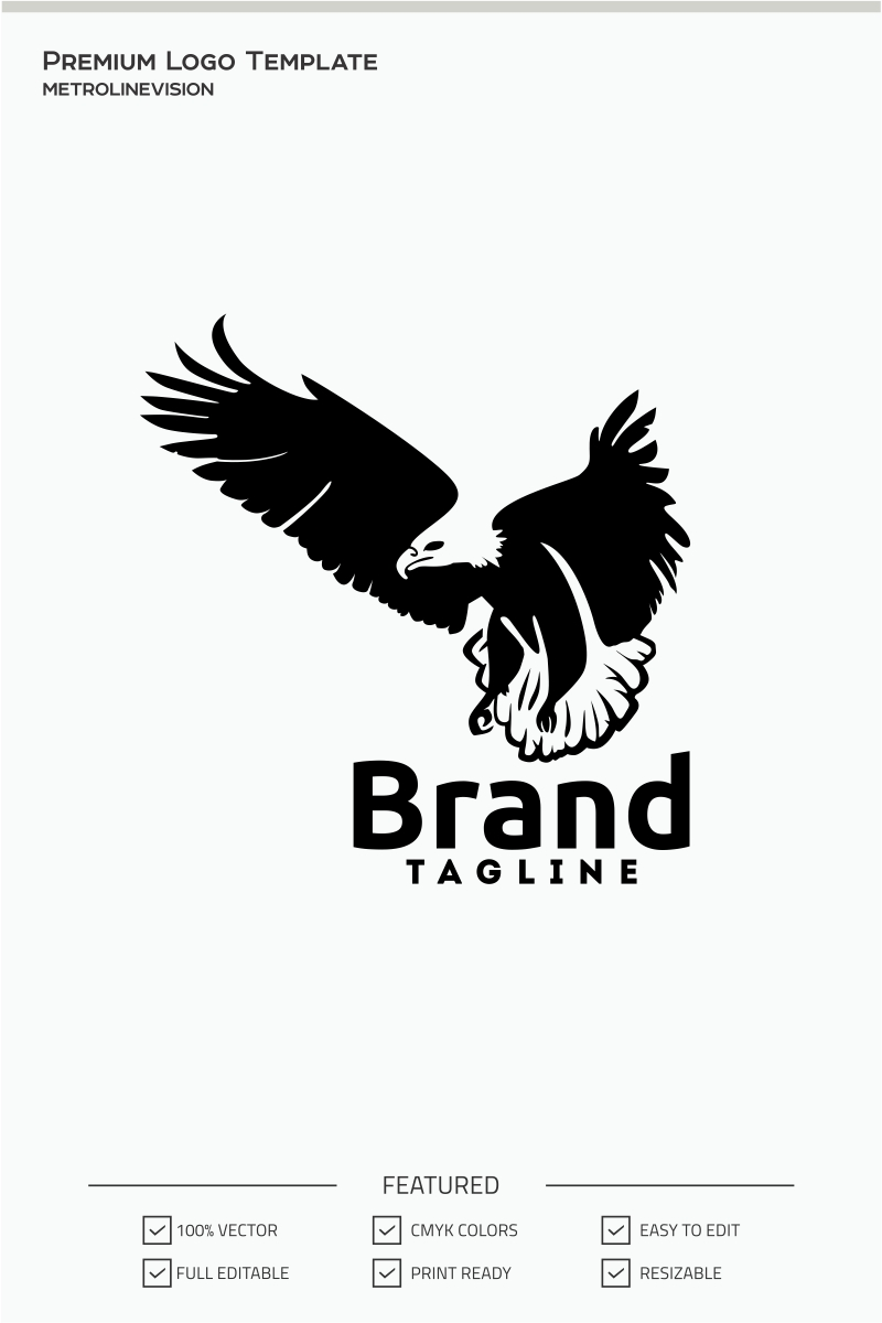 Eagle Logo Template #71038