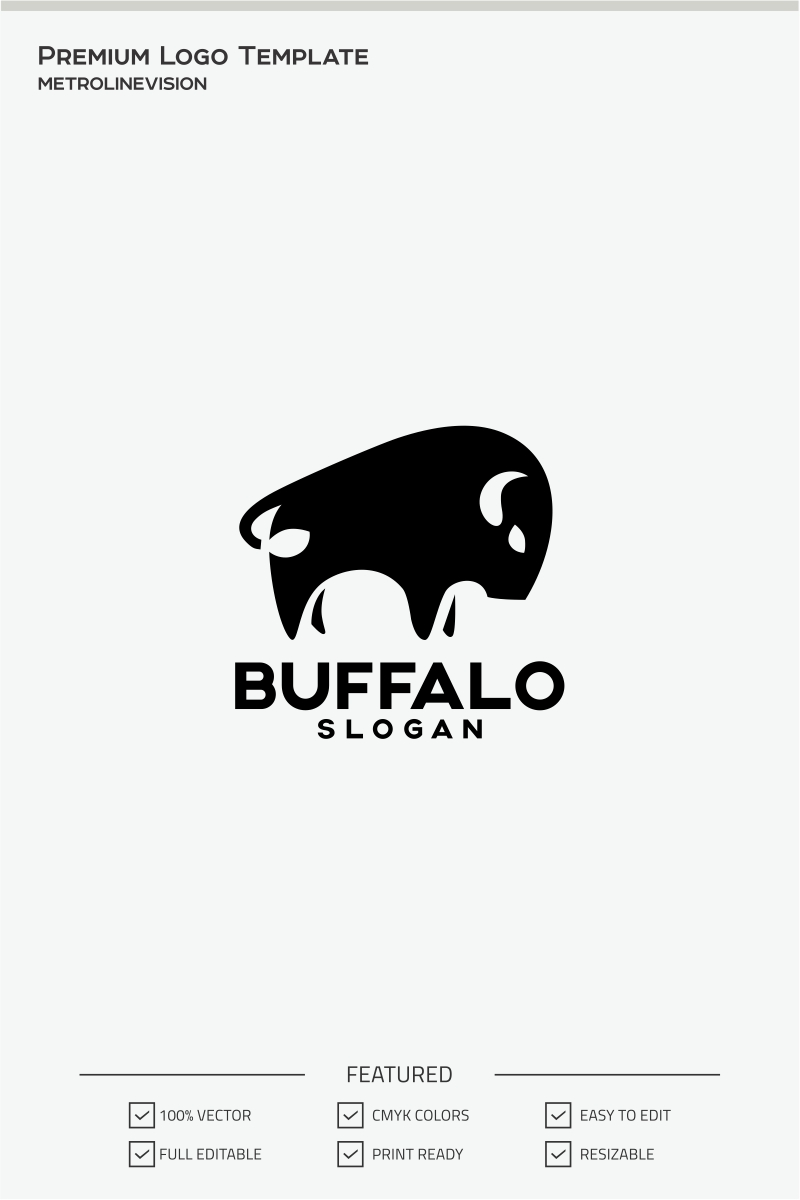 Buffalo Logo Template #71291