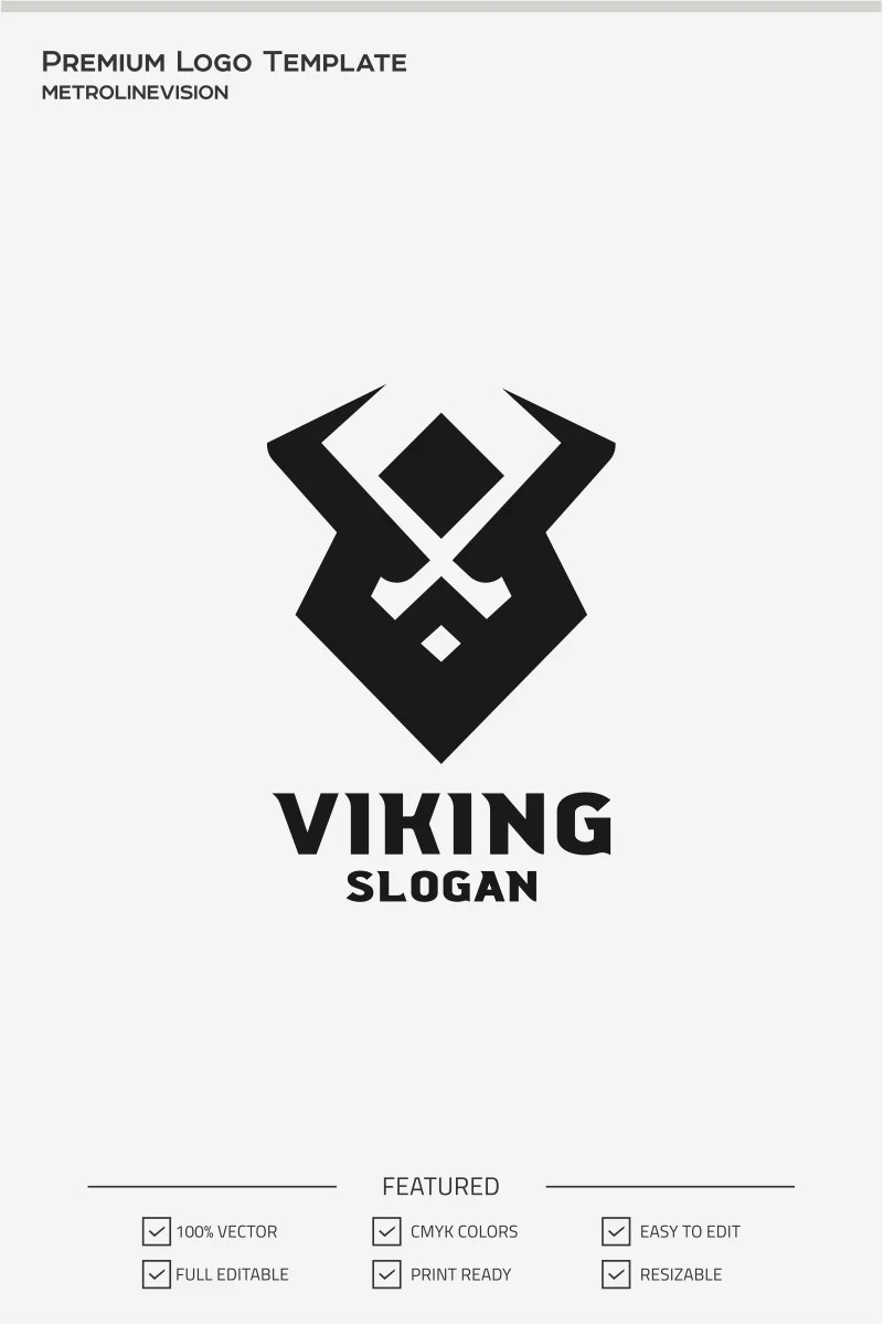 Viking Logo Template #71376