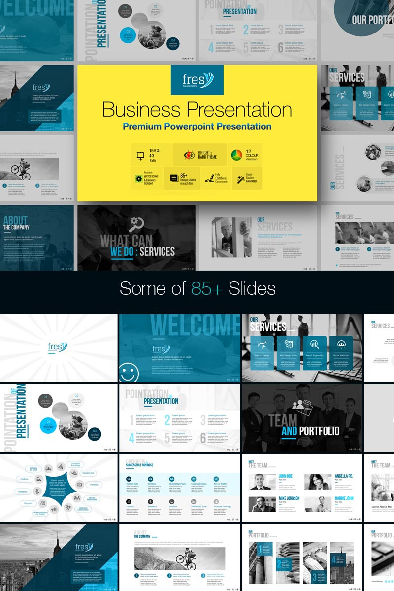 business services powerpoint templates
