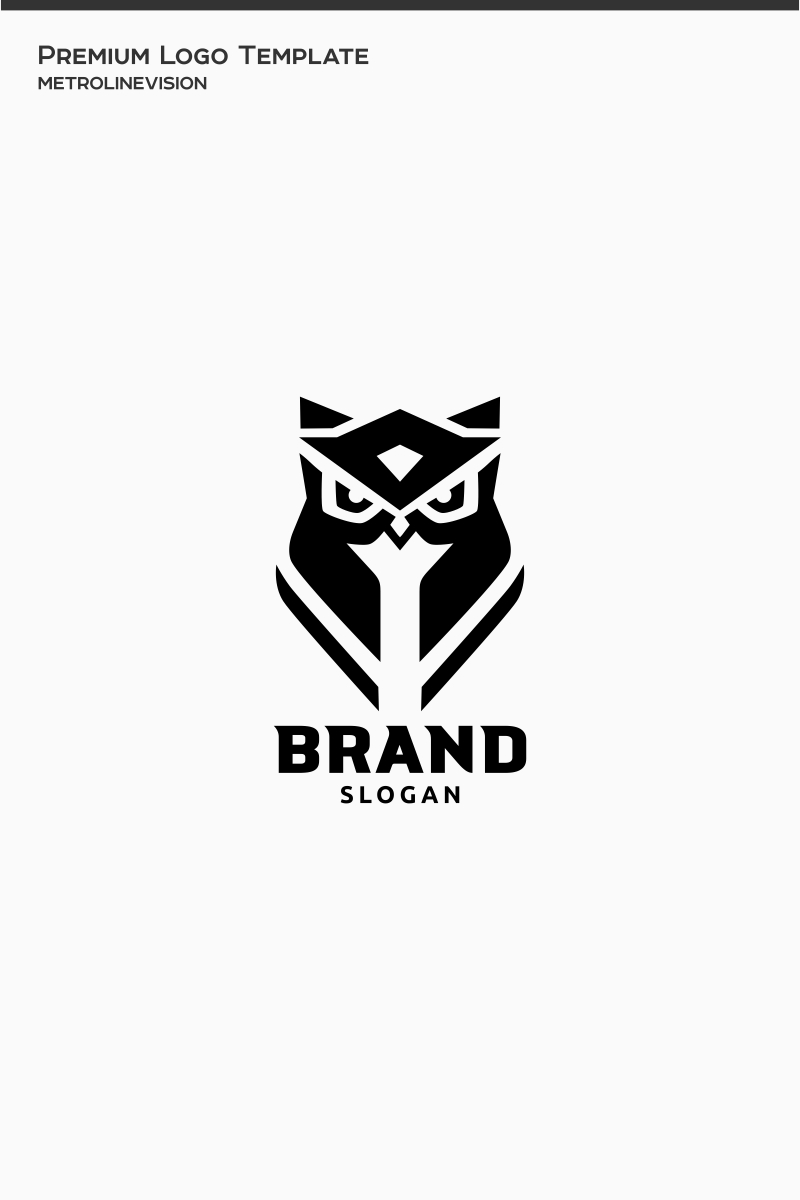 Cool Owl Logo Template #77009