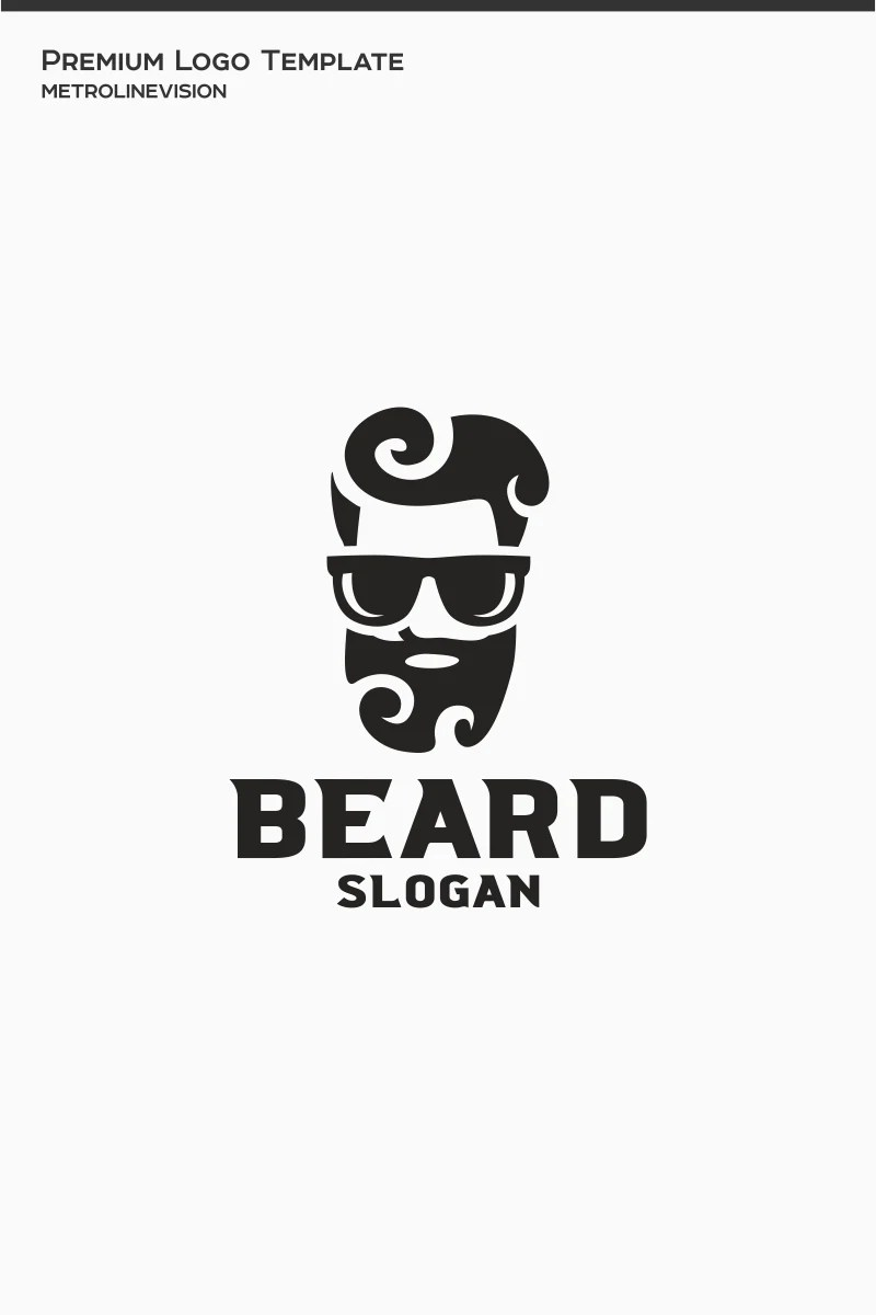 Beard Logo Template #77351