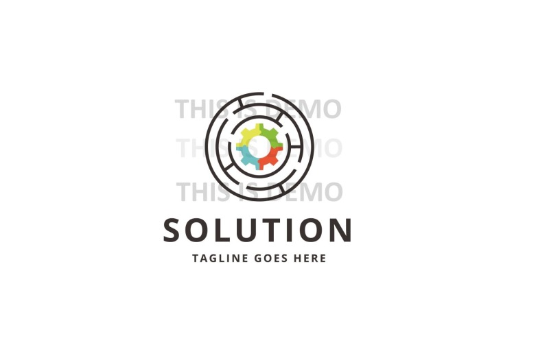Solution Logo Template #149626