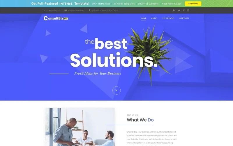 Plantilla Web #52524 para Sitio de Agencias de publicidad