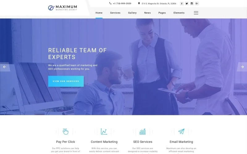 Its versatility makes it ideal for digital marketing agencies of various sizes and natures. Maximum Efficient Digital Agency Multipage Html Website Template
