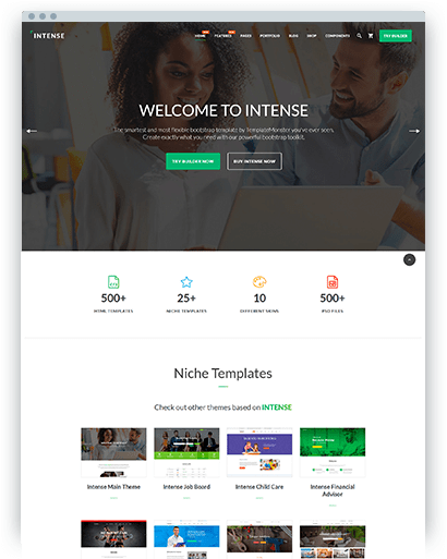 bootstrap templates themes thyum