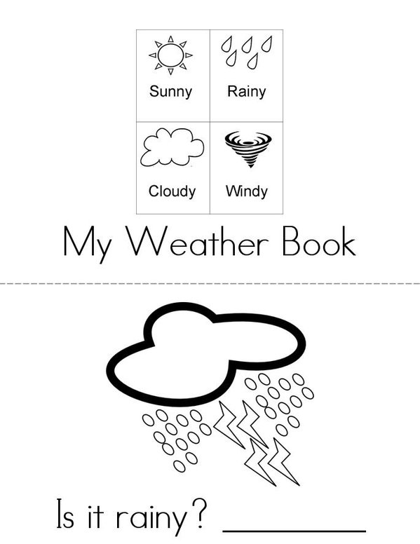 Whats The Weather Book Twisty Noodle